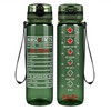 Nurse Facts on Army 32 oz Motivational Tracking Water Bottle