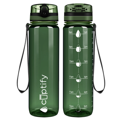 Cuptify Army 32 oz Water Bottle