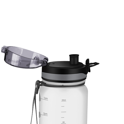 Cuptify Clear Frosted 32 oz Water Bottle