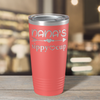 Nana's Sippy Cup on Guava 20 oz Stainless Steel Ringneck Tumbler