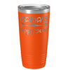 Nana's Sippy Cup on Orange 20 oz Stainless Steel Ringneck Tumbler
