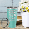Personalized Nurse Laser Engraved 20 oz Tumbler - Seafoam Matte