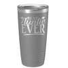 Best Auntie Ever on Slate 20 oz Stainless Steel Ringneck Tumbler