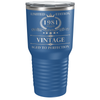 1981 Limited Edition Aged to Perfection 40th Birthday Laser Engraved 30 oz Vintage Tumbler