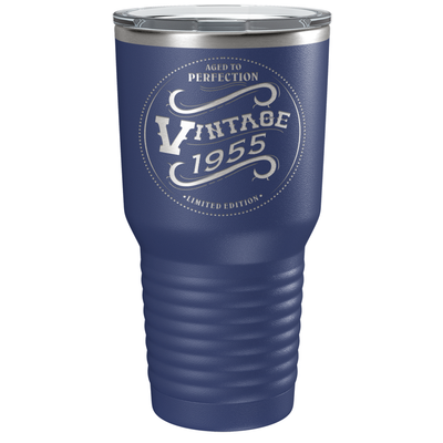1955 Aged to Perfection Vintage 66th Birthday Laser Engraved 30 oz Vintage Tumbler