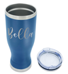 Cuptify Personalized Engraved 20 oz Pilsner - Blue