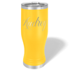 Cuptify Personalized Engraved 20 oz Pilsner - Yellow