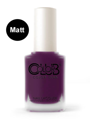 Nagellack Color Club - Plum-p and Juicy #05ALS28 - Kollektion Matte Rouge