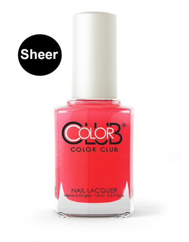 Nagellack Color Club Sheer/Aquarell - Flushed #05ANR15 - Kollektion Pop Wash