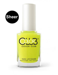Nagellack Color Club Sheer/Aquarell - Hello Sunshine #05ANR17 - Kollektion Pop Wash
