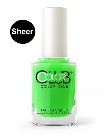 Nagellack Color Club Sheer/Aquarell - Just Dew It #05ANR18 - Kollektion Pop Wash