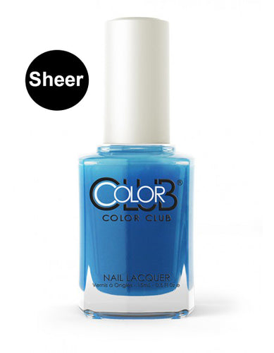 Nagellack Color Club Sheer/Aquarell - Out of the Blue #05ANR19 - Kollektion Pop Wash