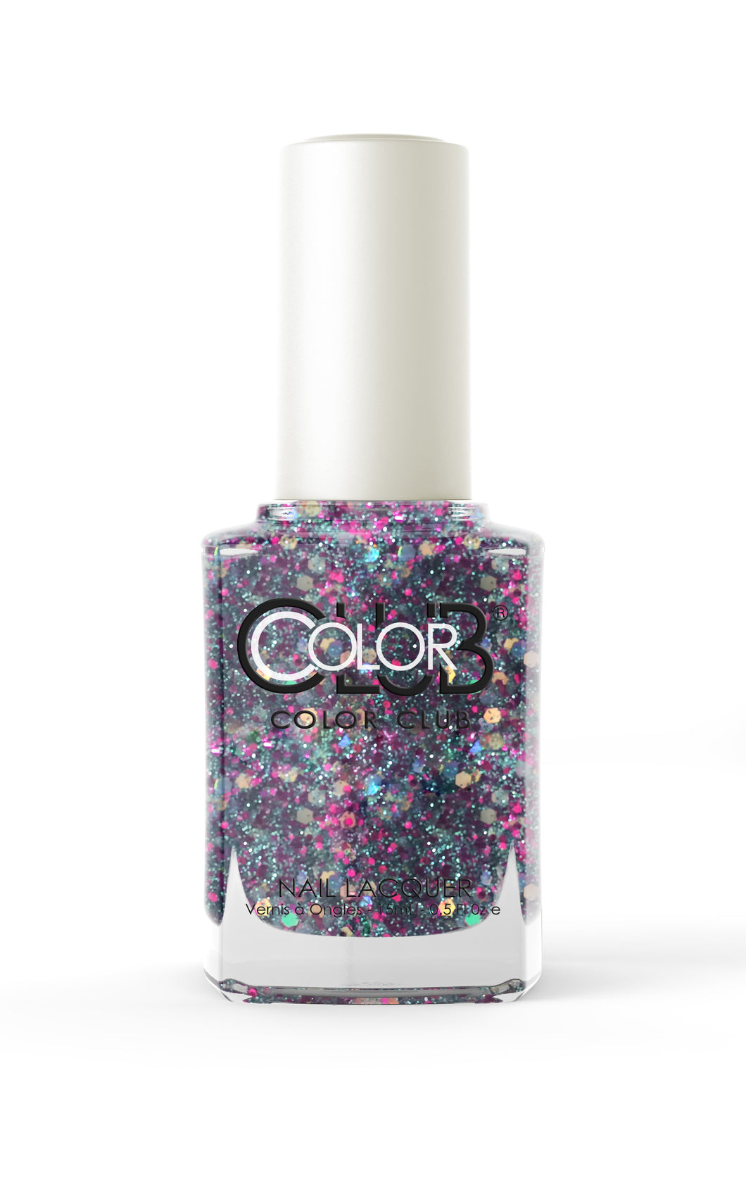 Nagellack Color Club Glitter - Pinky Swear #1033