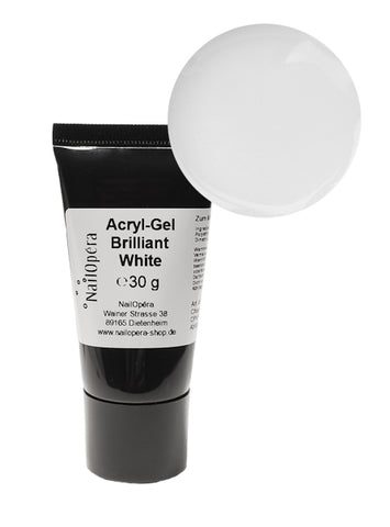 Acryl-Gel Polygel - Brilliant White