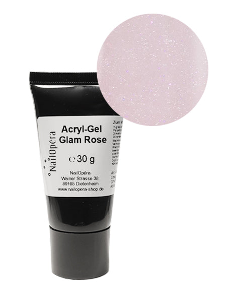 Acryl-Gel Polygel - Glam Rose