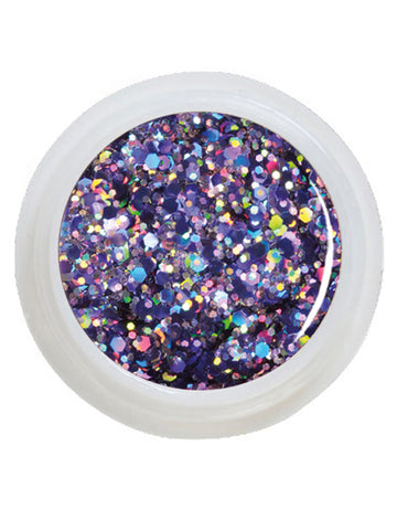 UV-Glitter Gel Big Extreme Cosmos - 5 ml