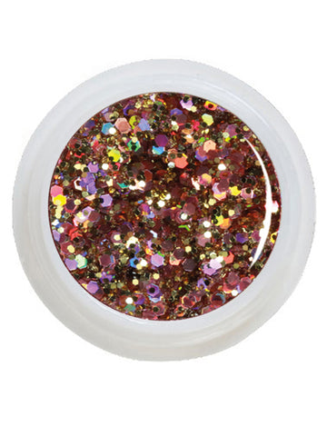 UV-Glitter Gel Big Extreme Milky Way - 5 ml