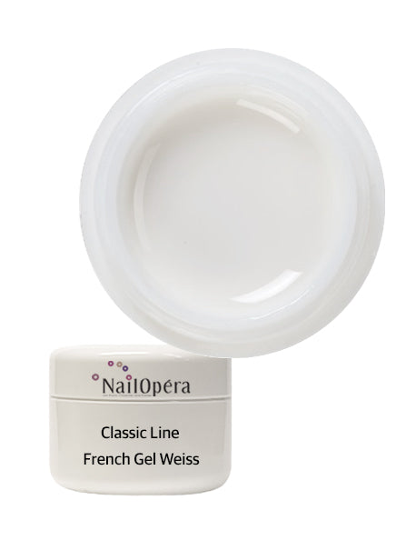Classic Line French Gel Weiss