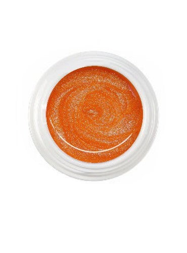 UV-Farbgel Glimmer - Neon Orange - 5 ml