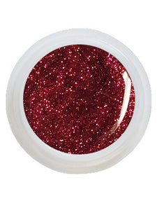 UV-Glitter Gel Rot - 5 ml