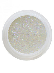 UV-Glitter Gel White Shimmer - 5 ml