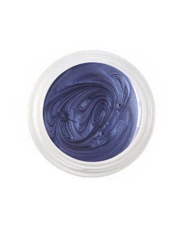 UV-Farbgel Metallic - Blue Jeans - 5 ml