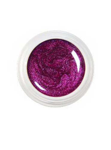 UV-Farbgele Metallic - Raspberry - 5 ml