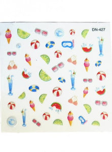 Nail Sticker - Fruit Punch Sticker No 2