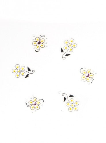 Nail Sticker - Gem Nail Blumen