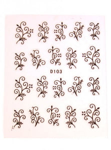 Nail Sticker - White Dot Sticker No 1