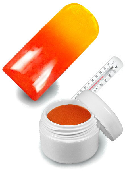 UV-Farbgel Thermo Gel Orange-Gelb - 5 ml