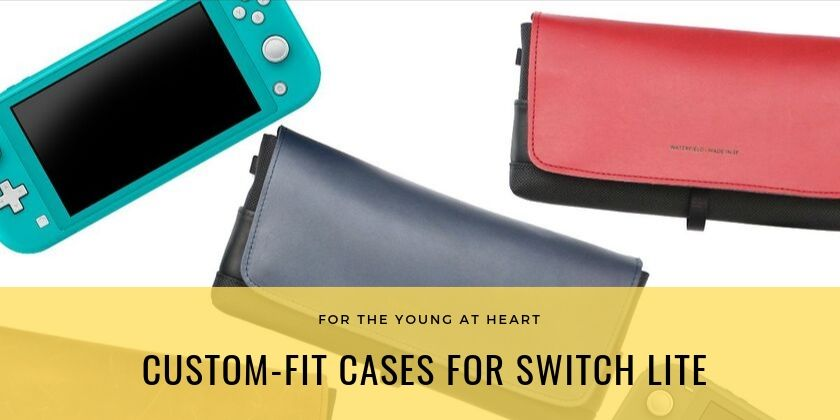 Top Three Classy, Adult-style Cases for the Switch Lite