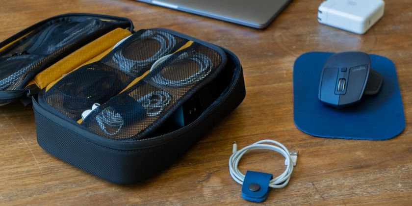 Organize cords, cables, and dongles with these handy accessories