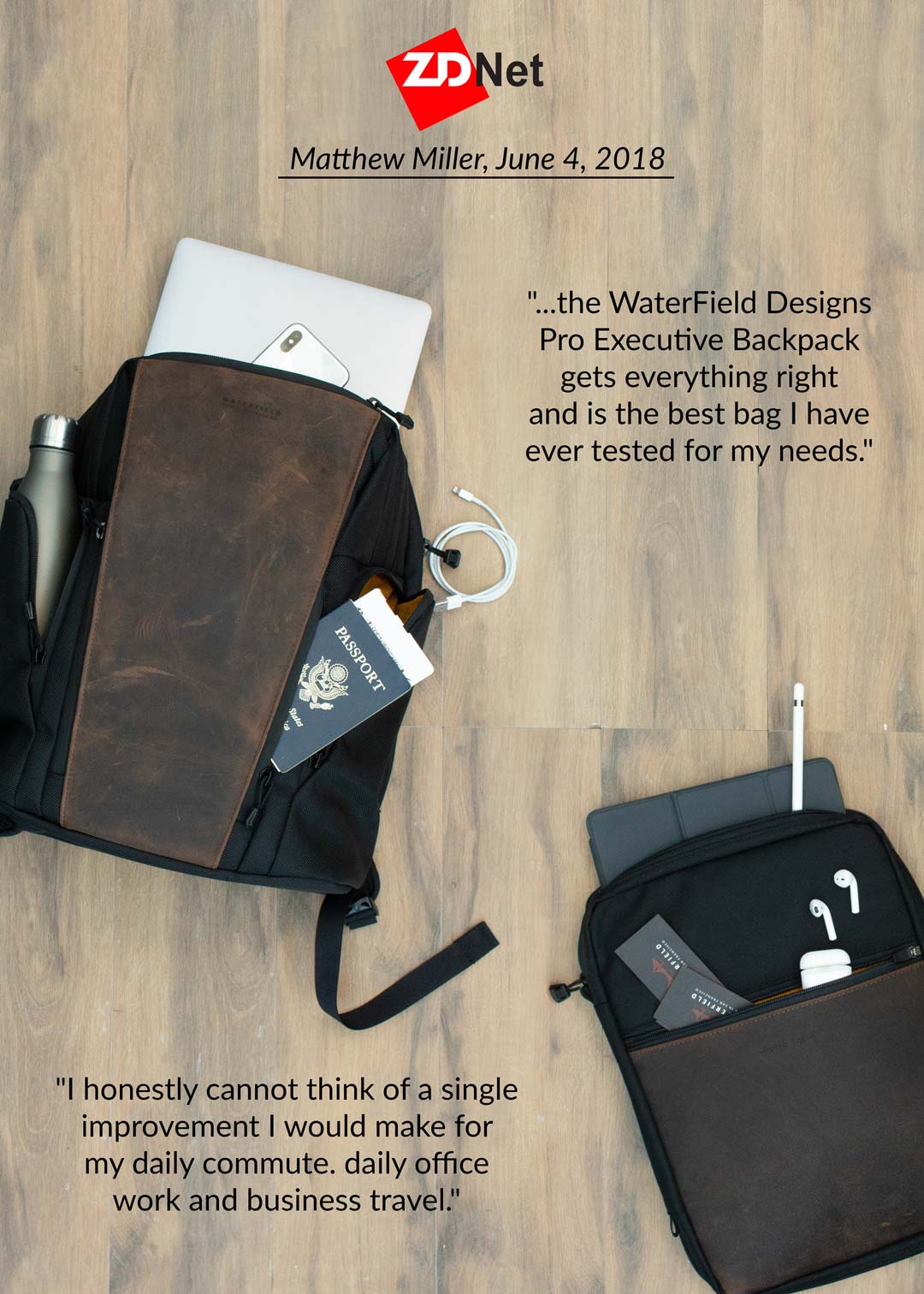 ZDNet Review: Executive Backpack