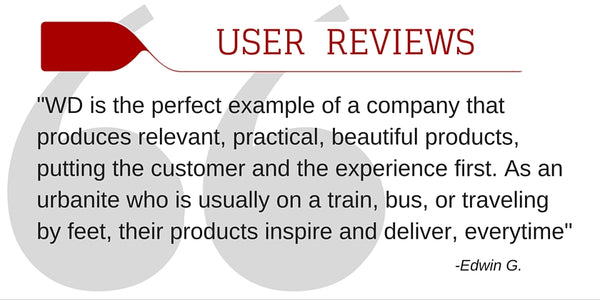 WaterField Designs User Reviews