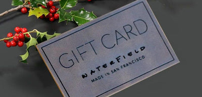 The WaterField E-Gift Card