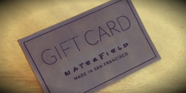 WaterField Gift Card
