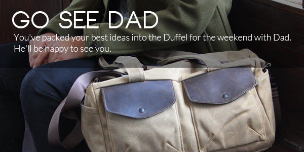 Father's Day duffel bag