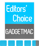 GadgetMac Editors' Choice 4.5/5 Rating