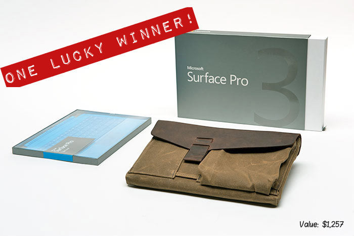 Surface Pro 3 give away