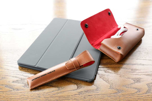 The Atelier Pencil Case and the Atelier iPad Gear Case