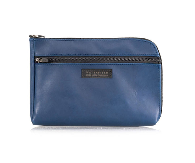 NEW! Blue Leather