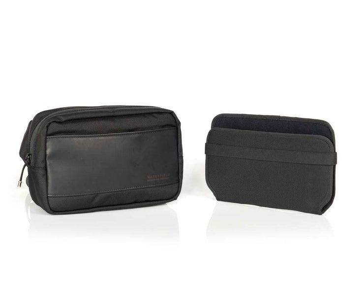 Ballistic Nylon with Black Leather + Taco Insert