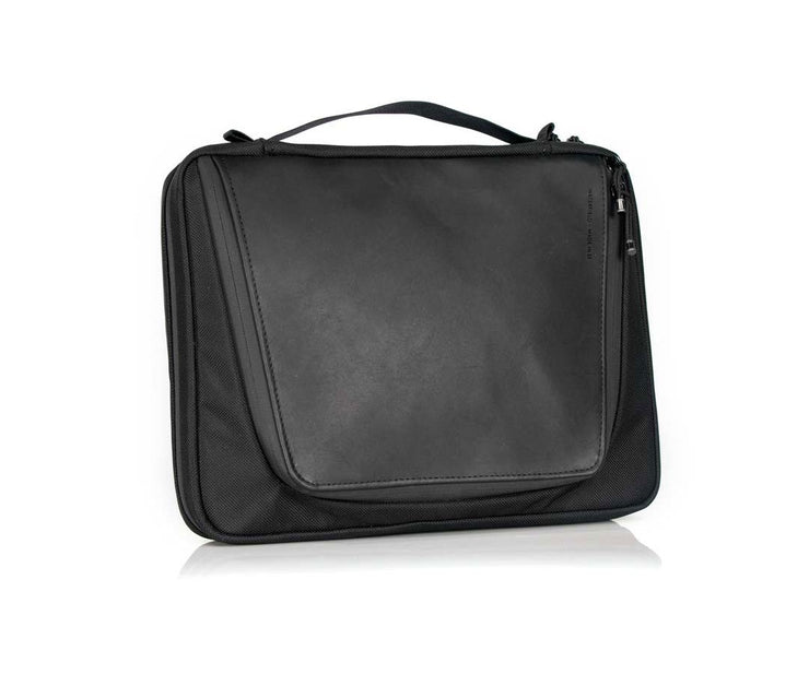 Tech Folio Plus - Ballistic nylon with leather accent