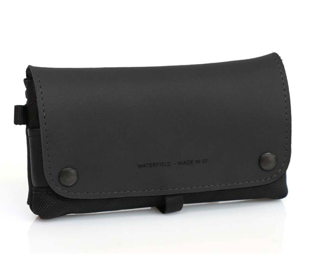 Black Leather Flap