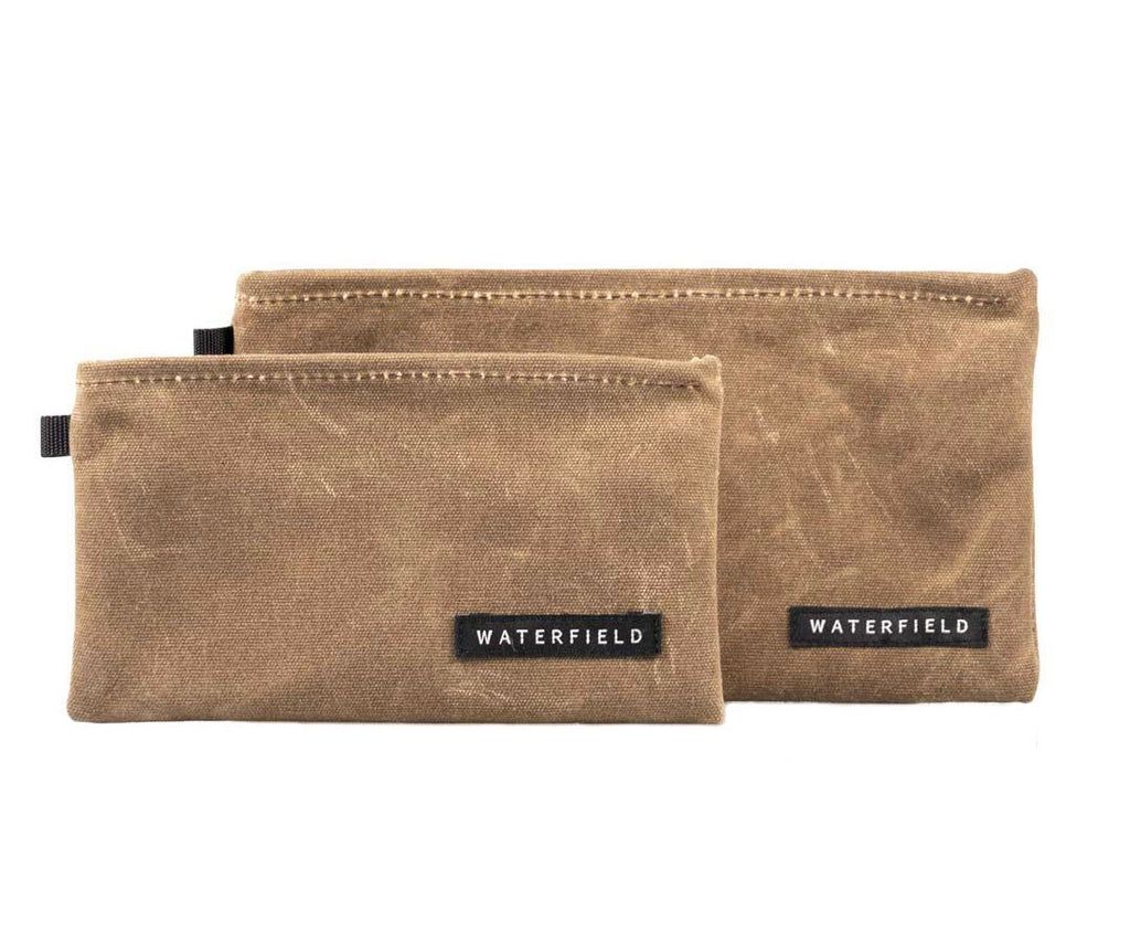 Two sizes: Travel Wallet & Travel Wallet Plus