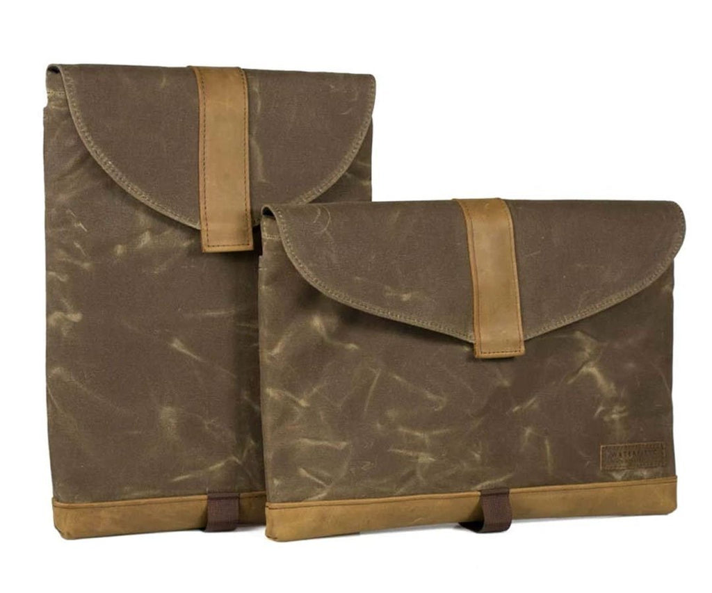 Waxed Canvas - Vertical or Horizontal orientation
