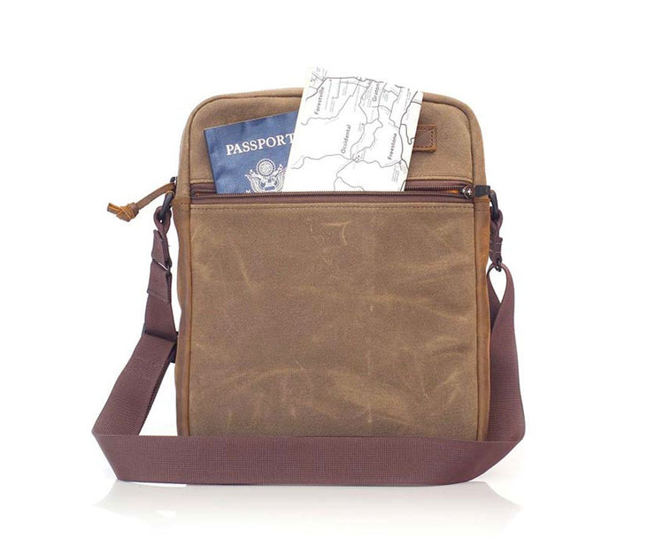 Back: Ideal for quick-access travel items