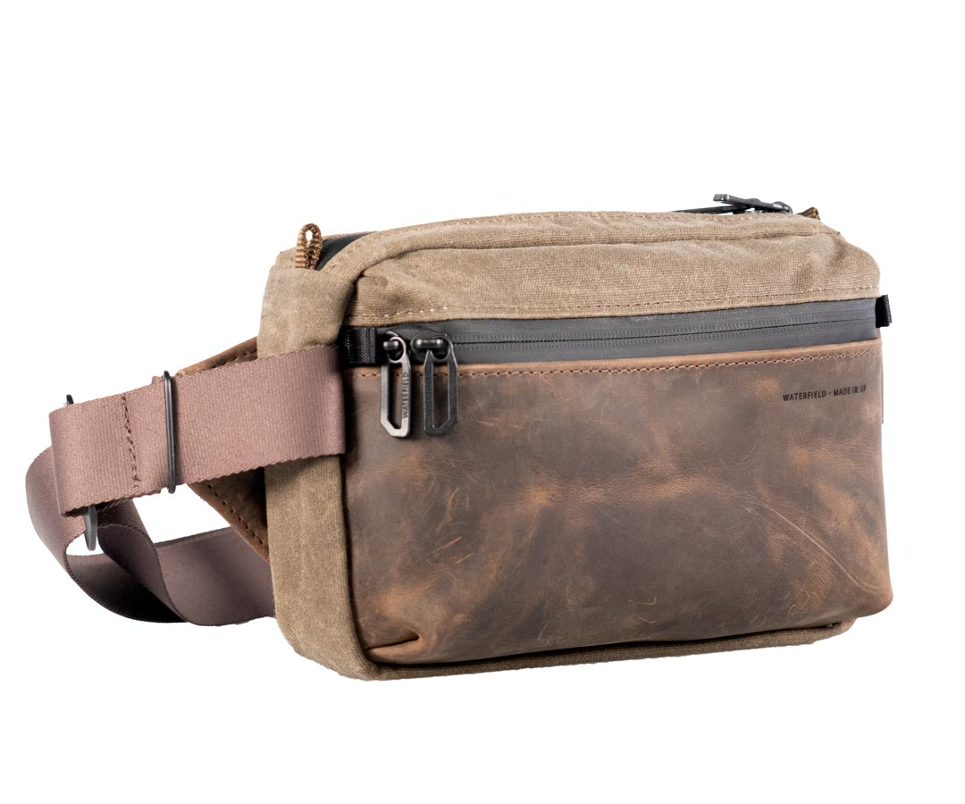 WaterField Unveils Hybrid Hip Sling Bags with Padded iPad Compartments Image