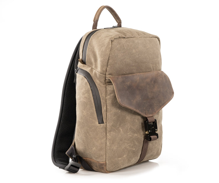 Waxed Canvas Field Backpack